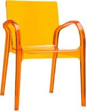 Thermo Plastic Dejavue Stacking Armchair - Orange